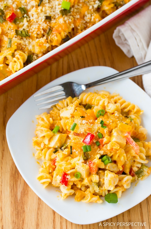 The Best Buffalo Chicken Mac and Cheese Recipe #winner