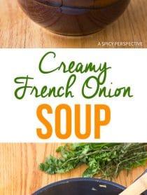 Dazzling Creamy French Onion Soup Recipe
