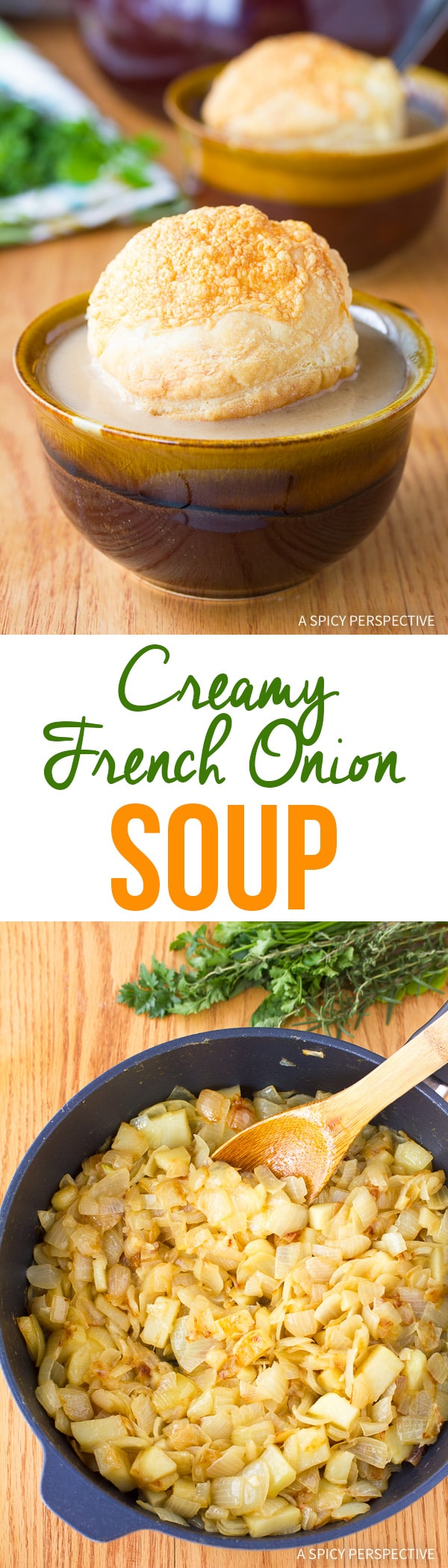 Dazzling Creamy French Onion Soup Recipe