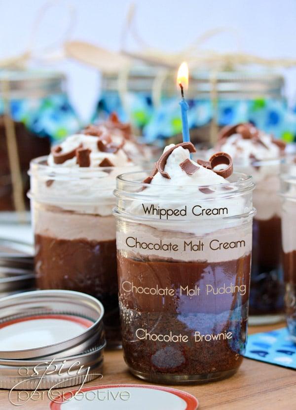 Chocolate Malt Brownies