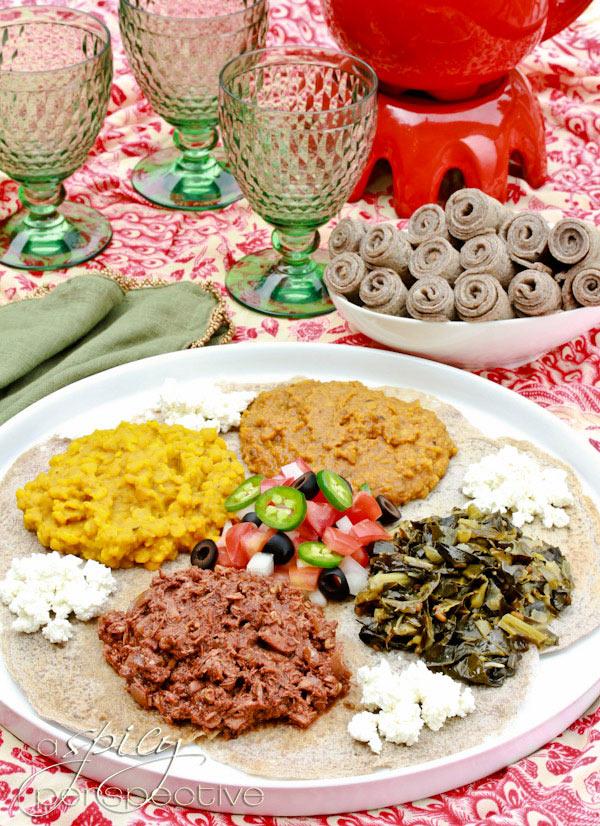 Ethiopian Recipes: Chicken Doro Wat and Injera Recipe
