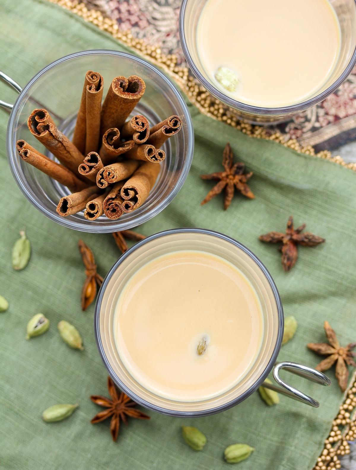 Chai Tea Latte Recipe #ASpicyPerspective #chai #latte #indian #tea #howto