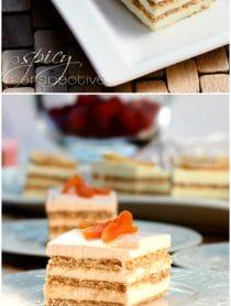 Layered Jello Mousse Cake Recipe