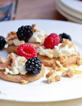 Goat Cheese Walnut Berry Bites