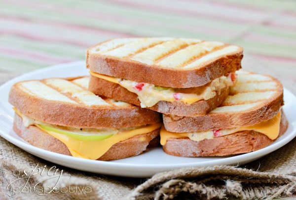 Pimento Granny Smith Grilled Cheese Recipe