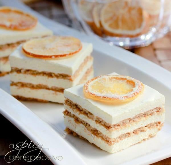 Layered Jello Mousse Cake