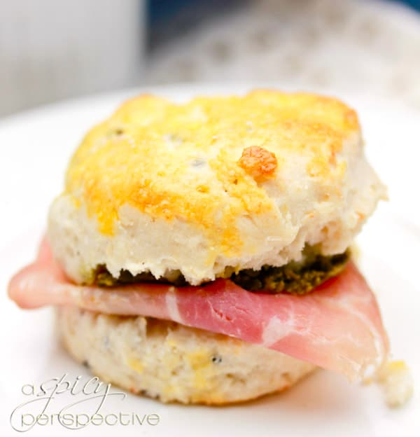 Truffle Parmesan Quick Biscuit Recipe