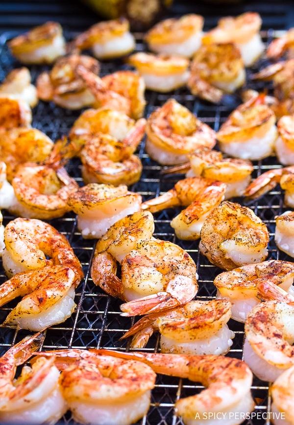 Making Shrimp Tacos Recipe with Ranchero Sauce