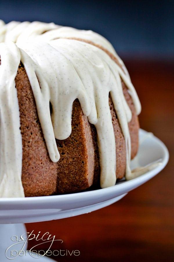 Moist Velvet Brownie Swirl Cake #bundtcake