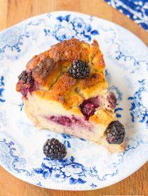 Blackberry Bread Pudding Recipe