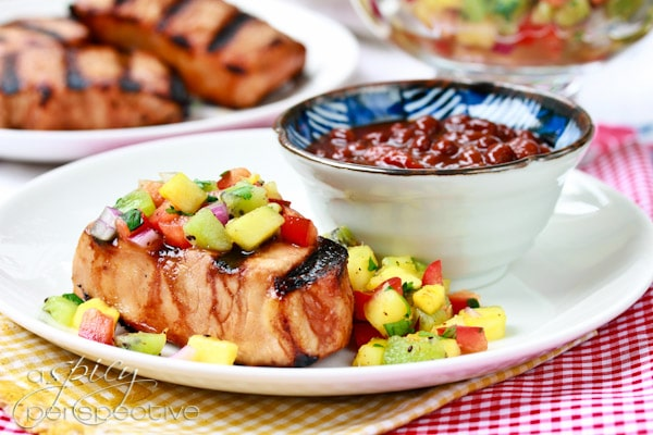 Grilled Pork Chops Recipe