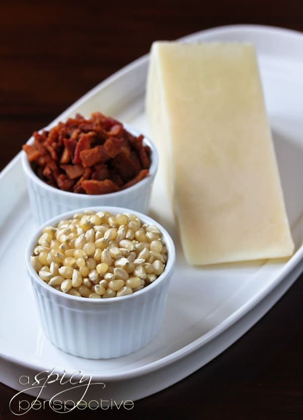 Bacon and Pecorino Popcorn - A Spicy Perspective