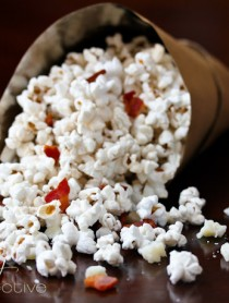 Easy Bacon and Pecorino Popcorn