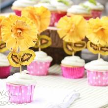 Pina Colada Cupcakes