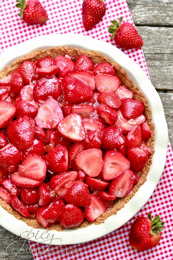 Fresh Strawberry Pie - A Spicy Perspective
