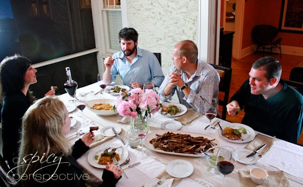 Hosting a Dinner Party