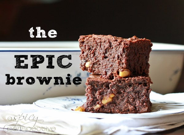 Homemade Brownies - The Epic Brownie Recipe