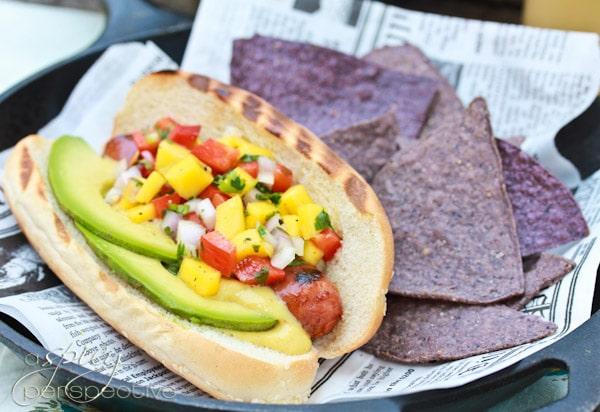 Hawaiian-Style Hot Dogs - ASpicyPerspective.com