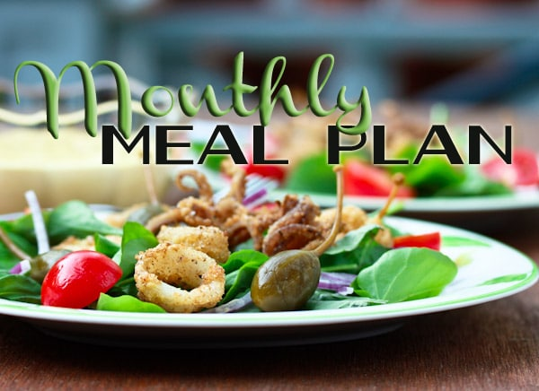June Monthly Meal Plan