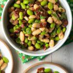 White Bean Edamame Salad Recipe