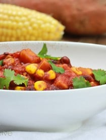 Vegan Chili ~ ASpicyPerspective.com