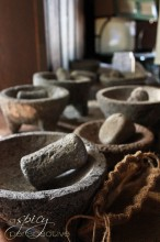 Ancient Mortar and Pestles  ~ ASpicyPerspective.com