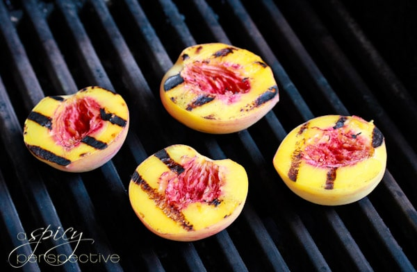 Sweet Grilled Peaches With Homemade Candied Ginger Ice Cream Recipe ...