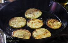 Pan-Frying Eggplant @ ASpicyPerspective.com