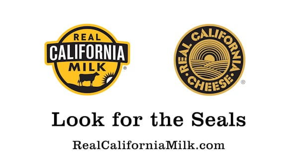 Real California Milk and Cheese Seals ~ ASpicyPerspective.com
