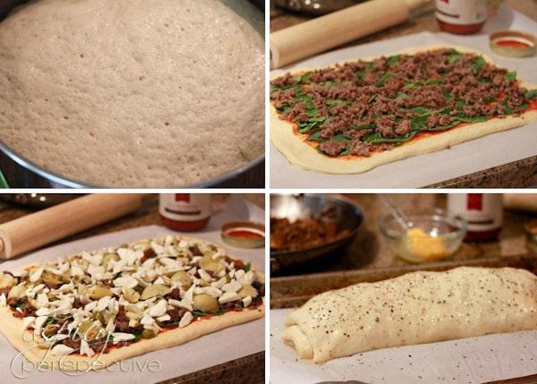 Stromboli How To-s @ ASpicyPerspective.com
