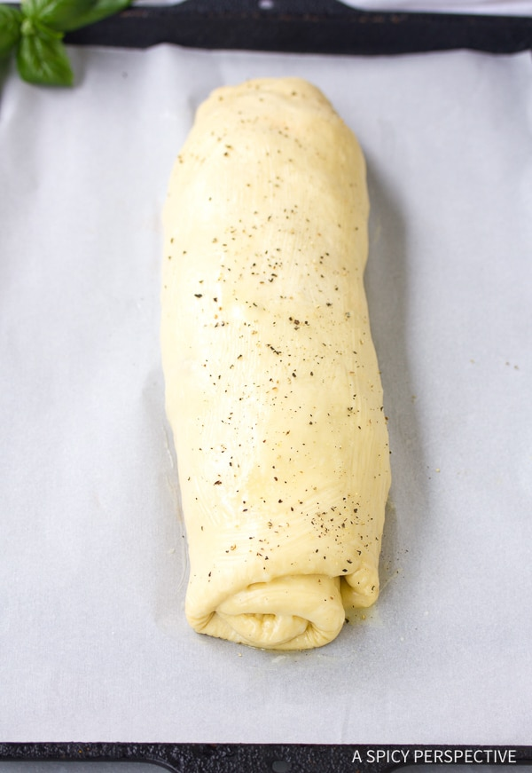Rolled Pizza Dough