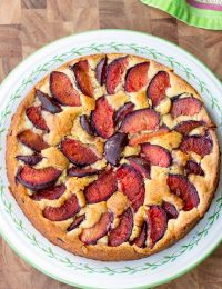 Fresh Plum Cake Recipe | ASpicyPerspective.com