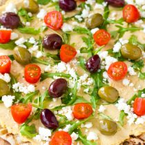 Grilled Greek Pizza Recipe