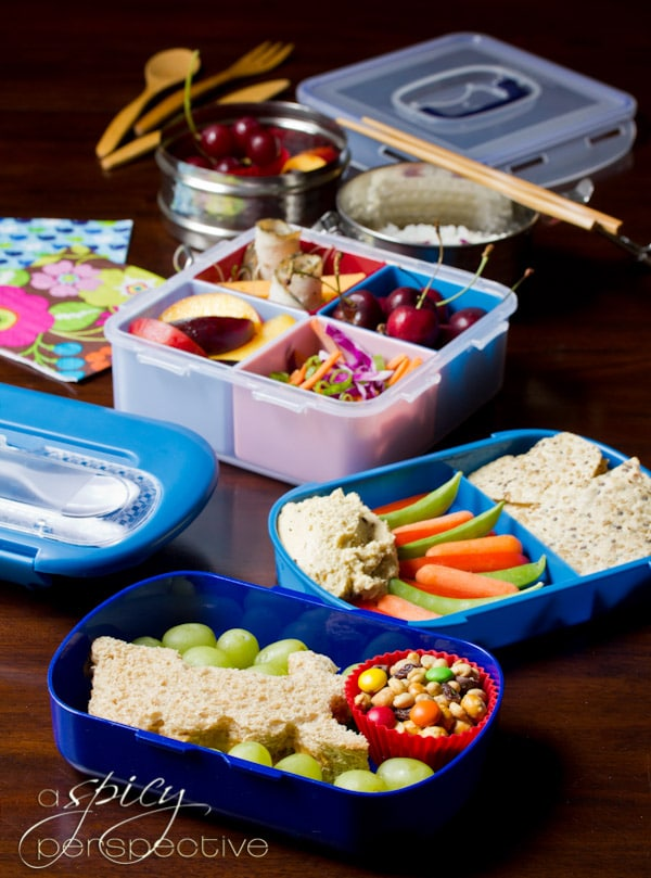 Japanese Bento Lunch Boxes | ASpicyPerspective.com