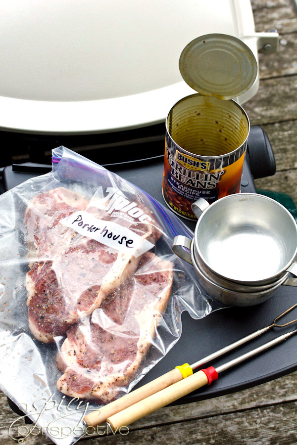 Easy Porterhouse Steaks with Compound Butter | ASpicyPerspective.com