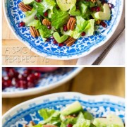 Grilled Romaine Avocado Heart Salad with Poppyseed Dressing