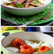 Chilaquiles Recipe with Grilled Marinated Skirt Steak! #mexican