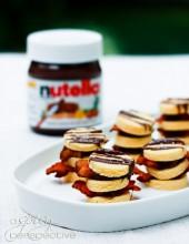 Bacon Nutella Napoleons | ASpicyPrspective.com