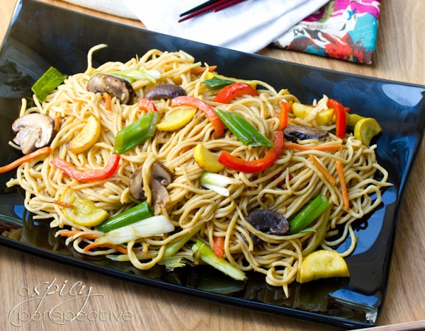 Best Lo Mein Recipe | ASpicyPerspective.com