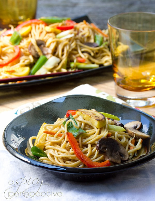 Lo Mein Recipe | ASpicyPerspective.com