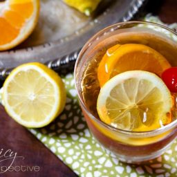 Old Fashioned Cocktail with Sweet Tea | ASpicyPerspective.com #cocktails #recipe
