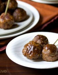 Spiced Apple Swedish Meatballs Recipe | ASpicyPerspective.com