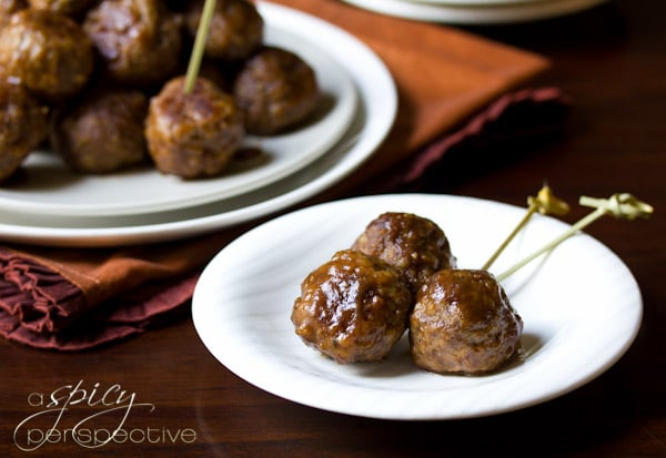 Spiced Apple Swedish Meatballs Recipe - A Spicy Perspective
