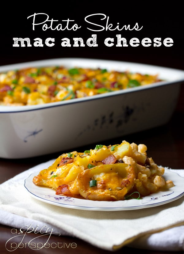 Baked Potato Skins Mac And Cheese Recipe