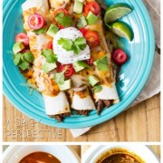 Slow Cooker Beef Enchiladas Recipe