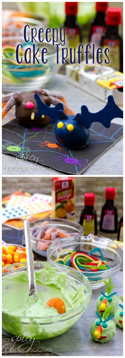 How to Make Creepy Crawly Cake Truffles for Halloween