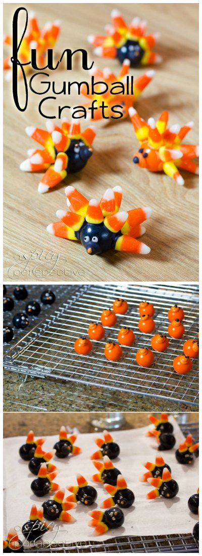 Fun and Easy Gumball Crafts