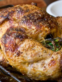Oven Roasted Turkey | ASpicyPerspective.com #thanksgiving #recipes #turkey
