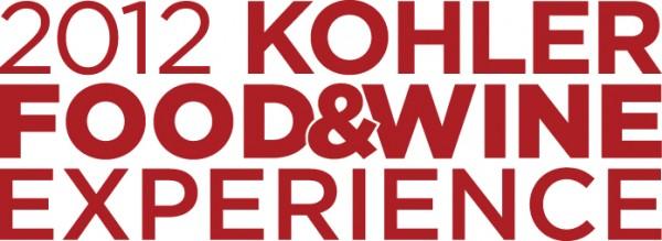 Kohler Food & Wine Experience 2012 Logo   ASpicyPerspective.com #Festivals #WineTasting #Kohler