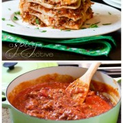 Best Classic Homemade Lasagna Recipe Ever - with sausage and a secret ingredient!